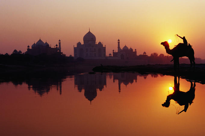 taj mahal sunset, travel blog, goindiayatra