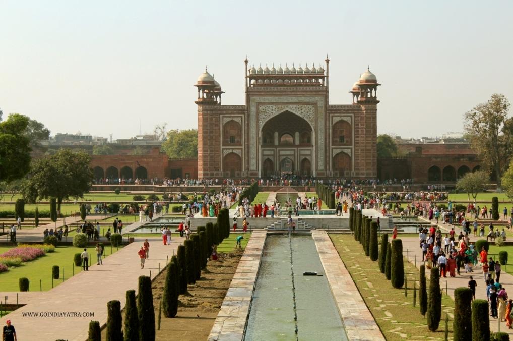 taj mahal North gate, goindiayatra blog