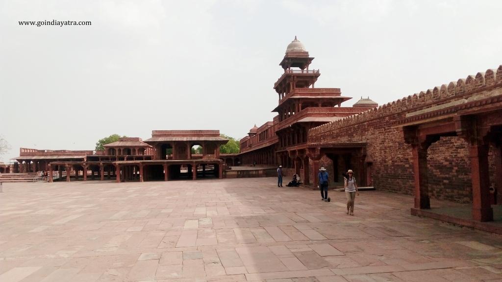 Panch Mahal, fatehpur sikri Palace