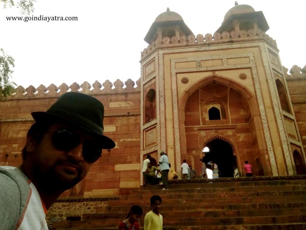 Main Gate of Fatehpur Sikri, Chisti Dargarh gate, Fatehpur sikri