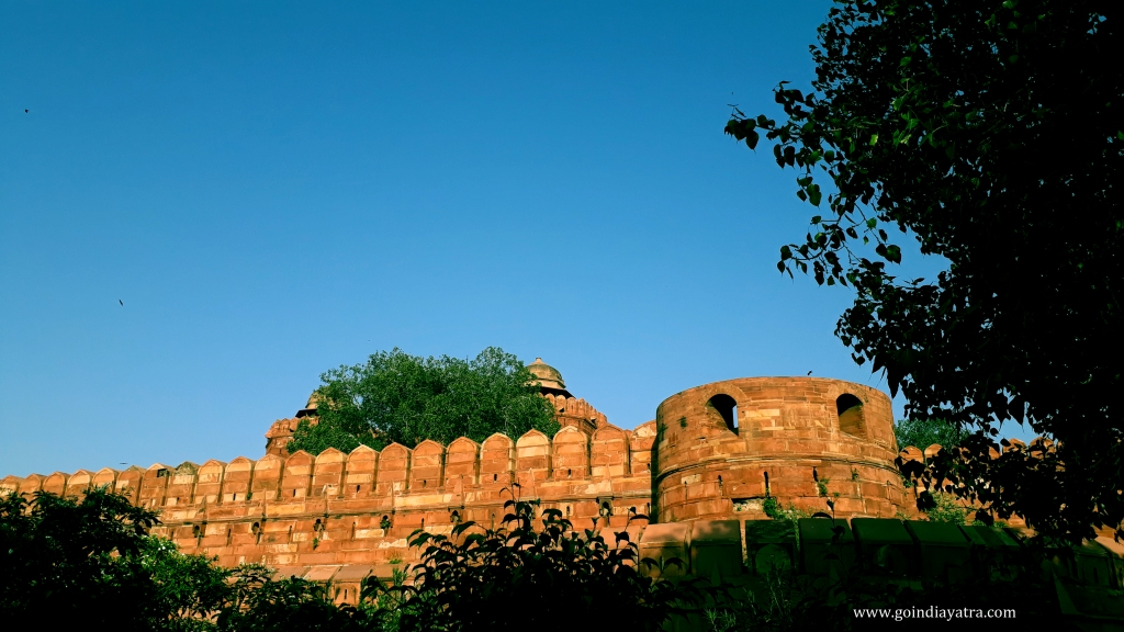 Agra fort – The Home to Mughals