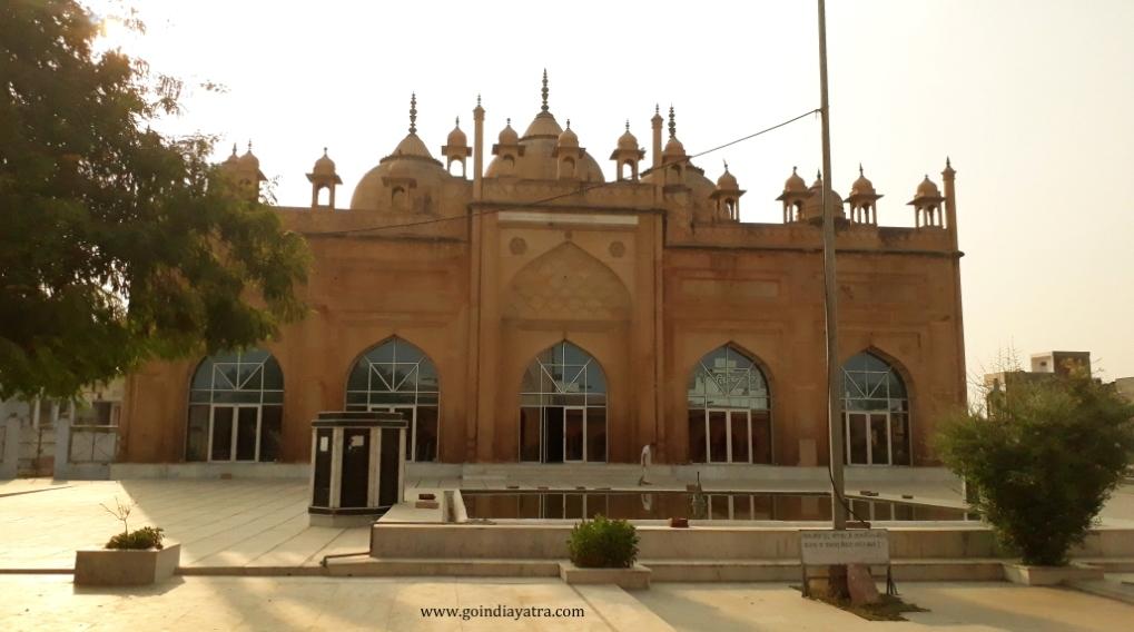 bharatpur jama masjid, jat masjid, goindiayatra blog
