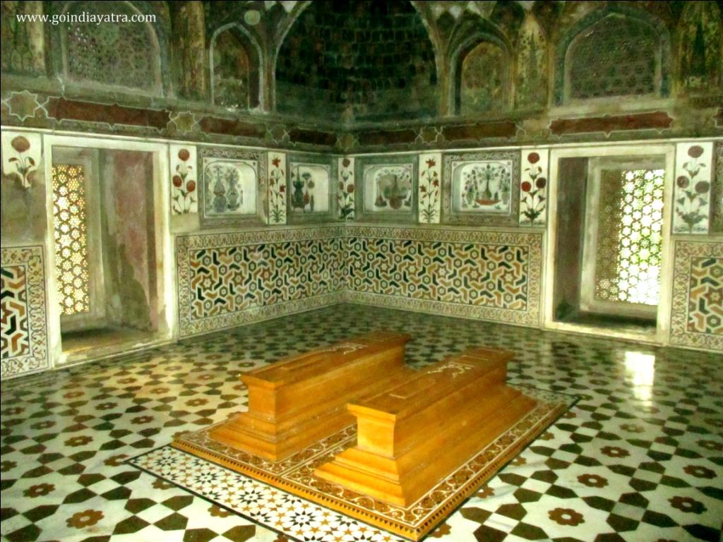 itimad-ud-daulah original grave, goindiayatra blog