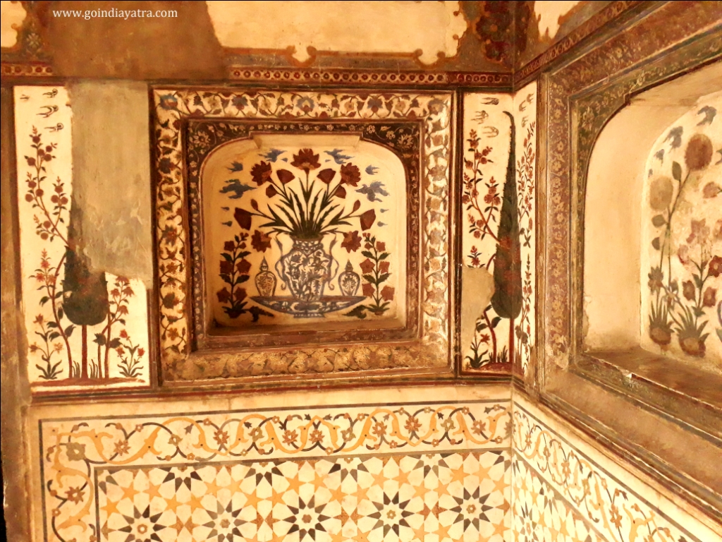 baby taj artwork, itimad-ud-daulah paintings